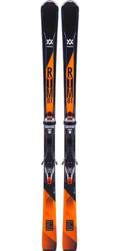 VOLKL RTM 81 + fix IPT Wr XL12.0 Tcx Gw Orange Black